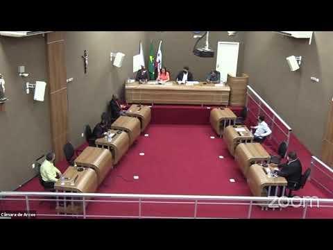 Reunião Ordinária (22/02/2021) - Câmara Municipal de Arcos