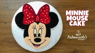 Minnie Mouse Cake | Buttercream Frosting