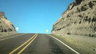 Driving Through Big Bend Ranch State