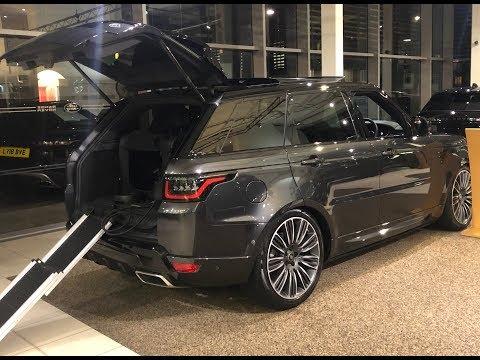 Wild 2019 Range Rover Sport 22' wheels like SVR