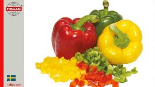 Paprika: Tärningsgaller 10×10 mm