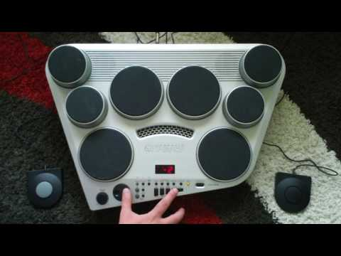 Yamaha DD-65 Drum Machine Sounds & Features