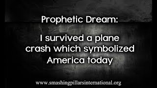 Prophetic dream: I survived a plane crash which symbolized America today