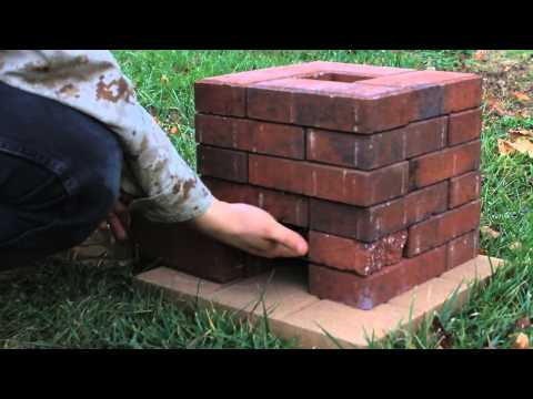 DIY Brick Rocket Stove