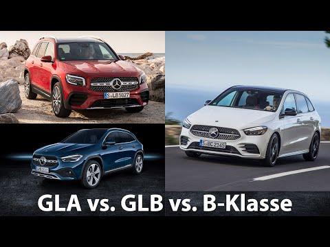 GLA vs. GLB vs. B-Klasse: sind die drei Modelle zu ähnlich? [4K] - Autophorie