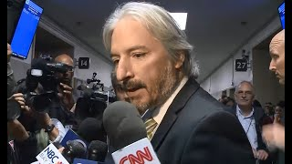 STEINLE TRIAL: Defense Attorney Matt Gonzalez Talks With Reporters About His Case Outside Courtroom