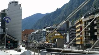 preview picture of video 'Andorra la Vella .. FREE of TAX shopping in a modern city'