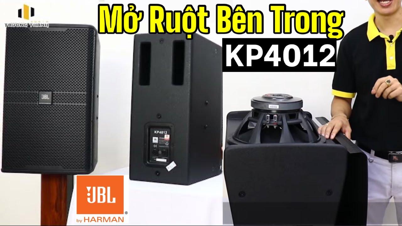 Khám phá nội thất loa JBL KP4012 hàng chính hãng nhập khẩu BaSao