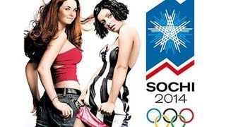t.A.T.u. - Nas Ne Dogonyat (Sochi 2014 We Will Rock You Mix) FULL SONG @ Opening Ceremony Sochi 2014