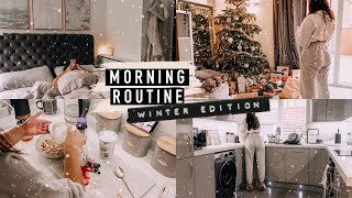 REALISTIC WINTER MORNING ROUTINE · WHAT I EAT & SPEED CLEAN WITH ME   Emily Philpott