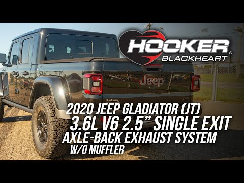 Jeep Gladiator Axle-Back Single Exit Exhaust