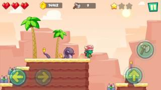 Jungle Adventures: Super World - Sahara Level 6... Gameplay (Free Game On Android)
