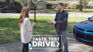 Dale Earnhardt Jr. & Vivian Lozenge Taste Test Drive | Nicorette