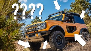 20 Things You Didnt Know About The 2021 Bronco!