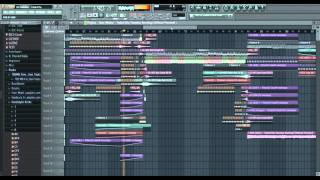 Alan Walker - Faded (Da Tweekaz Remix) COVER IN FL STUDIO