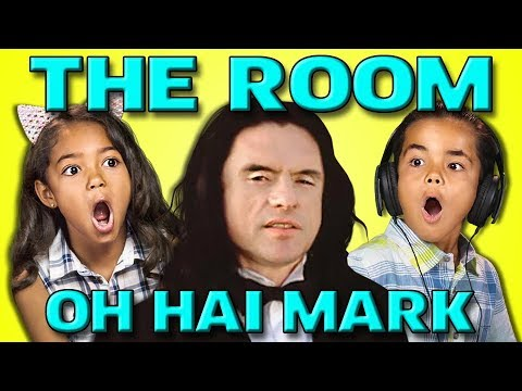 KIDS REACT TO WORST MOVIE EVER (THE ROOM/THE DISASTER ARTIST)