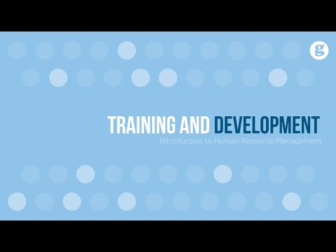 Introduction to Training and Development - YouTube