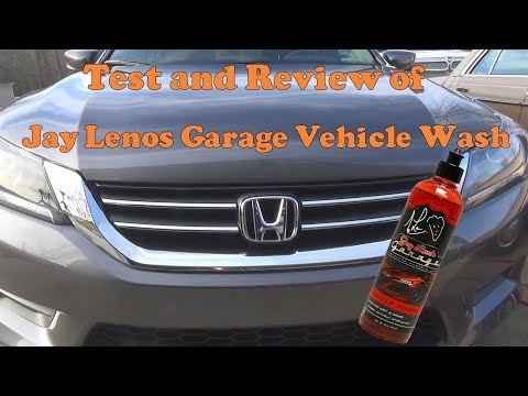 Test and review of Jay Leno's Garage Vehicle Wash