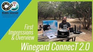 Winegard ConnecT 2.0 - WiFi Extender & 4G Modem: First Look and Product Overview