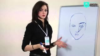 Как правильно оформить брови. Урок визажа / VideoForMe - видео уроки