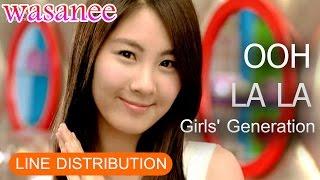 Girls' Generation/Snsd - Ooh La La - Line Distribution (Color Coded Live)