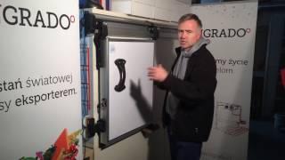 INGRADO - Jak zrobić przesuwne drzwi chłodnicze? Cz. 2