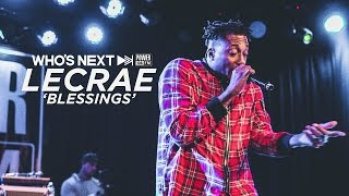 Lecrae Performs 'Blessings (feat. Ty Dolla $ign)' Live