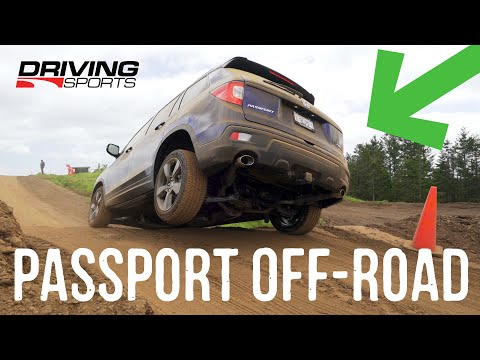 2019 Honda Passport Elite AWD Off Road Evaluation