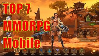 Top 7 Best Mobile MMORPG Android/iSO Games 2019
