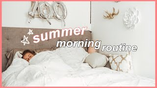 My Summer Morning Routine 2019