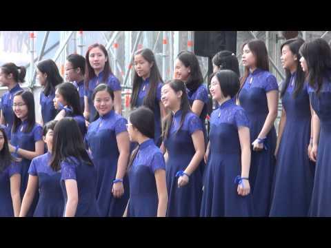 World Choir games 2014. Riga. Esplanade. Diocesan Schools Choral Society (12.07.2014 no 16.00)