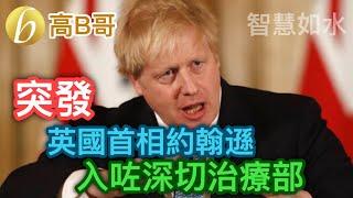 突發 英國首相約翰遜 入咗深切治療部 誠邀加入網台 [智慧如水] 20200407