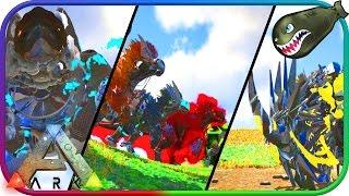 Ark: Survival Evolved   Super EpicTEK Dino Mod, Mythical Creature Brawl #22 (Ark Mod Previews)