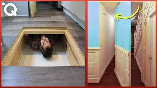 Incredible and Ingenious Hidden Rooms & Amazing Home Ideas