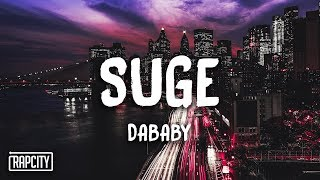 DaBaby   Suge (Lyrics)