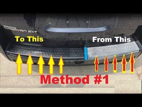 How to PERMANENTLY Restore Faded AUTO Trim  Secret METHOD