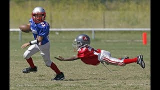 Best Football Vines Compilation  - Hits, Catches, Jukes - Youth Football Version