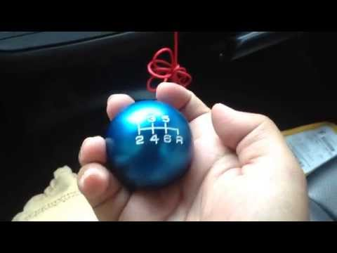 How to replace/change shift knob for acura Rsx honda