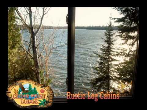 Watch Video of our Rustic Log Cabin