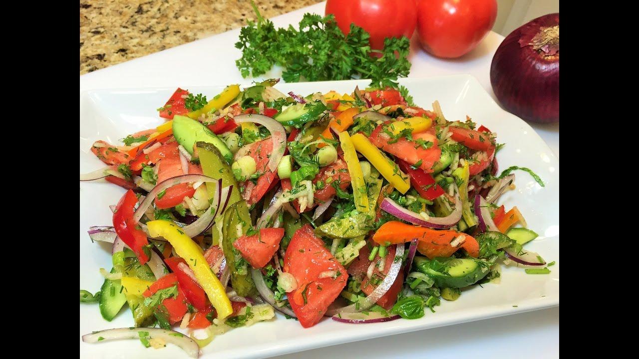 Салат витаминный Простой рецепт для новичков
