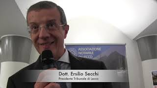 Intervista al Dott. Ersilio Secchi (Prima Parte)
