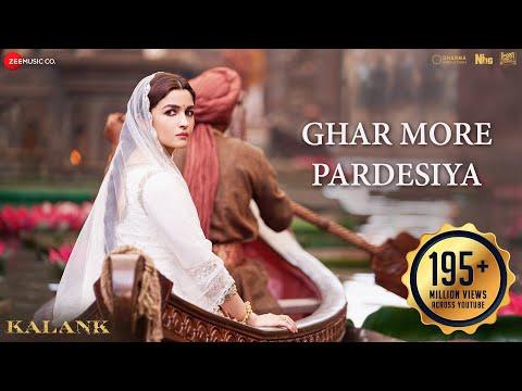 Ghar More Pardesiya Kalank Varun Alia Amp Madhuri Shreya Amp Vaishali Pritam Amitabh Abhishek