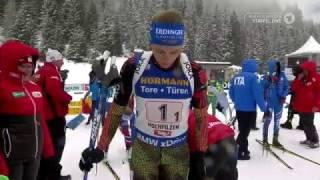 Damen 4x6 km Staffel Biathlon-WM Hochfilzen 2017/HD