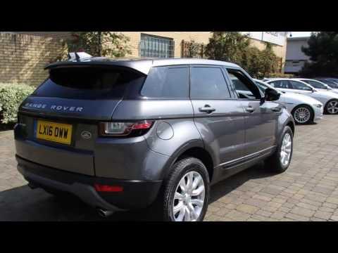 LX16OWW Land Rover Range Rover Evoque TD4 SE TECH 2l BEADLES LAND ROVER SIDCUP
