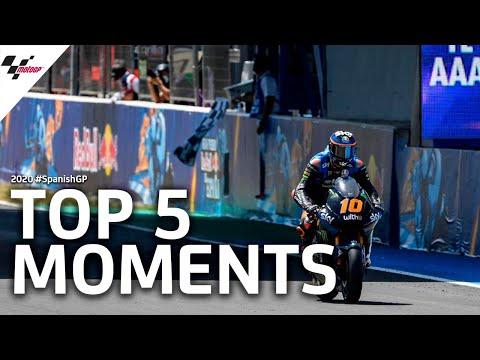 Moto2 スペインGP ハイライト動画