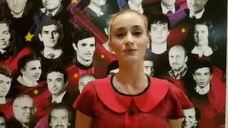 """Ledia Sulaj, soliste e trupës së baletit të TKOBAP, ju fton te ndiqni """"Monger"""" në Fier"""
