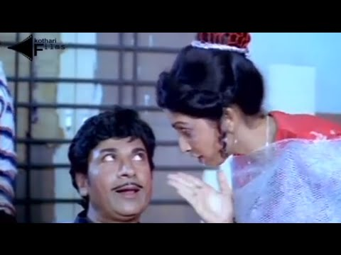 Rajkumar, Shankar Nag Comedy Scene - Apoorva Sangama Kannada Movie