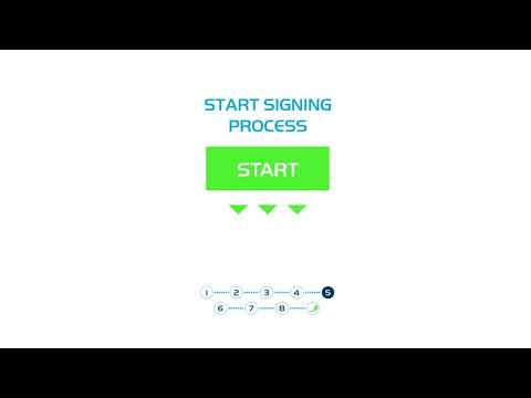 Digital contract signing