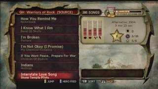 Guitar Hero 6 Warriors of rock songlist