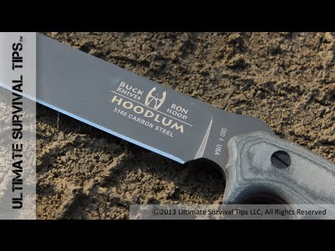 ONE Knife for Survival, Bushcraft and a Zombie Apocalypse – Buck Hoodlum Survival Knife Review